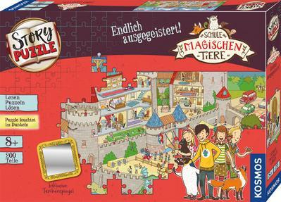 Schule der magischen Tiere - Story Puzzle: Endlich ausgegeistert! (Kinderspiel)