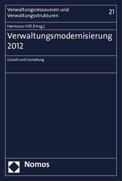 Verwaltungsmodernisierung 2012