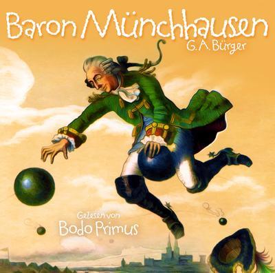 Baron Münchhausen Von G.A.Bürger
