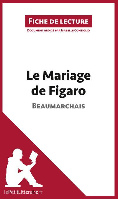 Le Mariage de Figaro de Beaumarchais (Fiche de lecture)