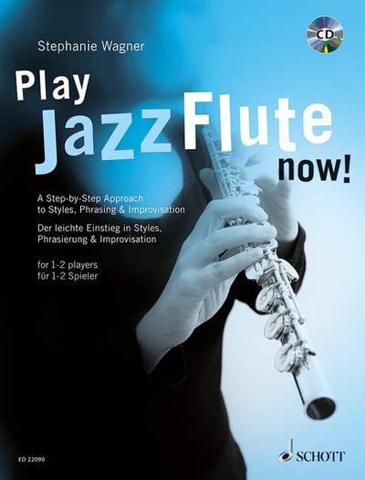 Play Jazz Flute - now!, m. Audio-CD