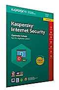 Kaspersky Internet Security Upgrade (Code in a Box) (FFP). Für Windows Vista/7/8/8.1/10/MAC/Android/iOs