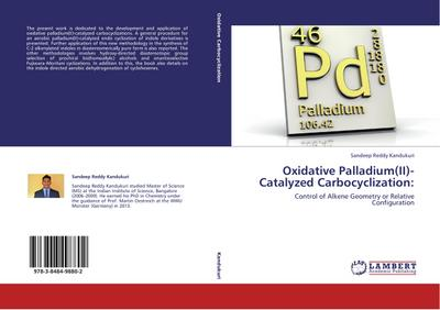 Oxidative Palladium(II)-Catalyzed Carbocyclization