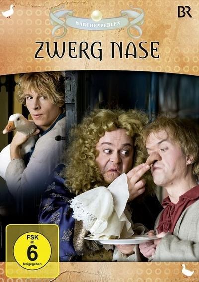 6 Märchenperlen - Zwerg Nase
