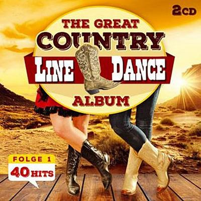 The Great Country Line Dance Album 40 Hits, 2 Audio-CD