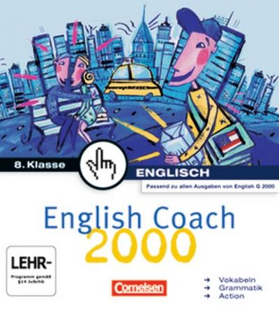 English Coach 2000 A4/B4/D4 8. Klasse