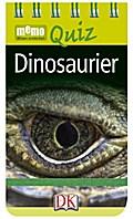 memo Quiz. Dinosaurier; memo Quiz; Deutsch; Durchgehende Farbfotografie, z.T. auch Illustrationen; 0-3 Symbol + ACHTUNG! Für Kinder unter 3 Jahren nicht geeignet. Erstickungsgefahr durch verschluckbare Kleinteile.