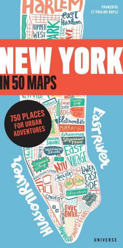 New York in 50 Maps