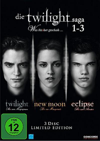 Die Twilight Saga 1-3 - Was bis(s)her geschah... [Limited Edition] [3 DVDs]