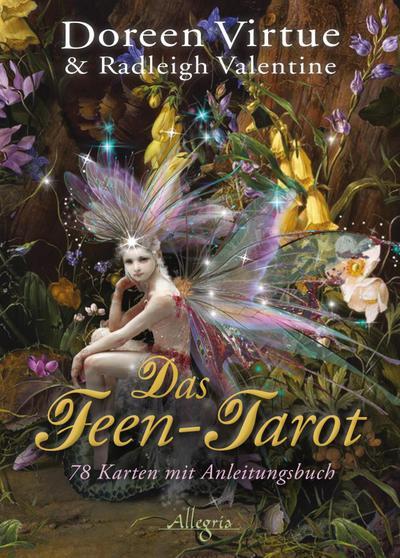 Das Feen-Tarot, Tarotkarten m. Anleitungsbuch