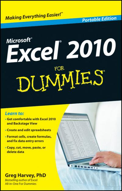 Excel 2010 For Dummies, Portable Edition