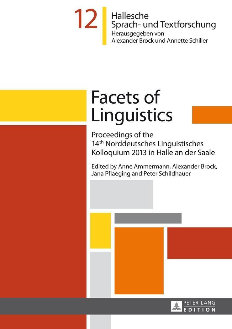 Facets of Linguistics Anne Ammermann