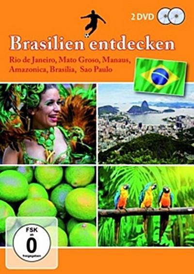 Brasilien entdecken - 2 Disc DVD
