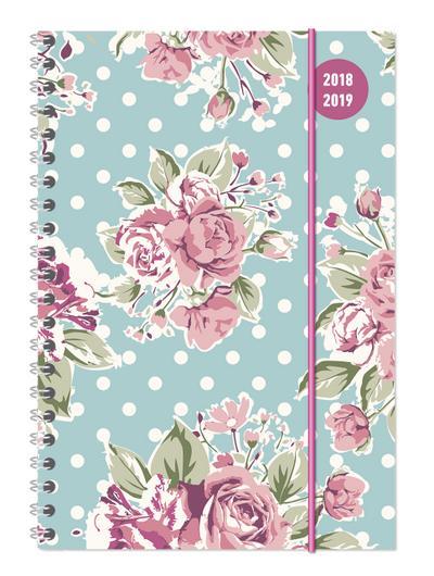 Collegetimer A5 Roses 2018/2019