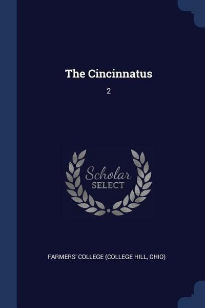 The Cincinnatus: 2