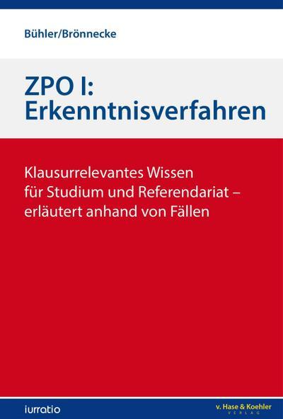 ZPO I: Erkenntnisverfahren