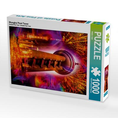 Shanghai Pearl Tower (Puzzle)