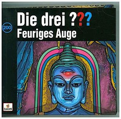 Die drei ??? - Feuriges Auge - Die Box, 4 Audio-CDs