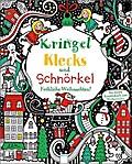 Kringel, Klecks und Schnörkel - Fröhliche Weihnachten!; Das bunte Kreativbuch zum Weitermalen   ; Ill. v. Harrison, Erica /Lovell, Katie /Übers. v. Golze, Lisa; Deutsch;