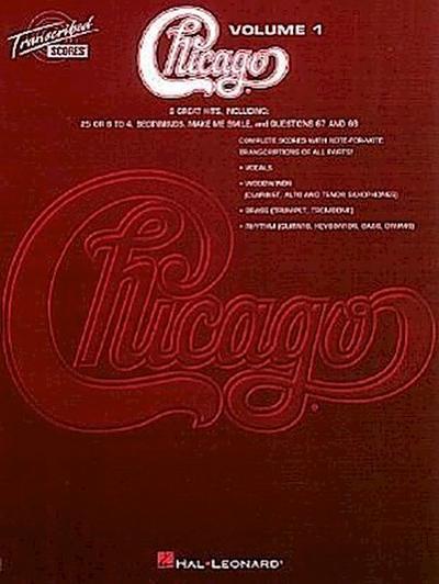 Chicago - Transcribed Scores Volume 1