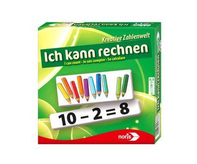 noris 608985766 608985766-Ich kann rechnen, Lernspiel - Noris Spiele Georg Reulein Gmbh & Co. KG - Spielzeug, Englisch| Französisch| Deutsch| Italienisch, Schipper, ,