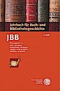 Jahrbuch für Buch- und Bibliotheksgeschichte  ...