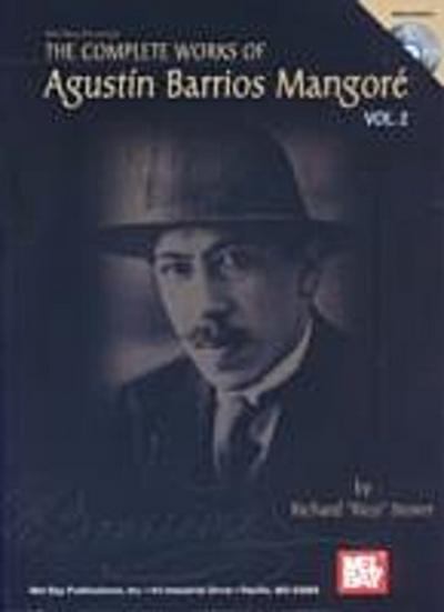 Complete Works of Agustin Barrios Mangore Vol. 2