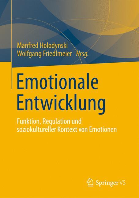 Emotionale Entwicklung Wolfgang Friedlmeier