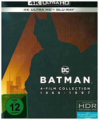 Batman 1-4 Collection 4K, 4 UHD-Blu-ray + 4 Blu-ray