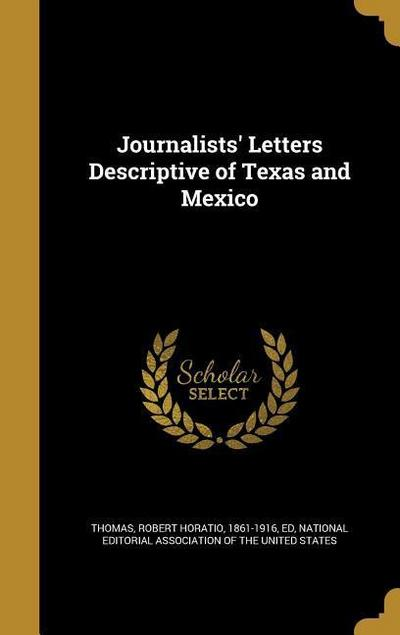 JOURNALISTS LETTERS DESCRIPTIV