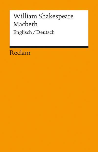 Macbeth: Englisch / Deutsch