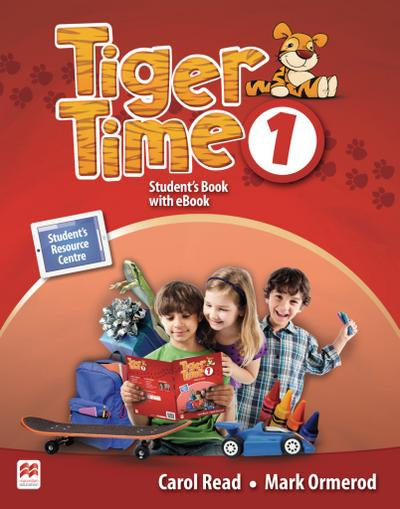 Tiger Time 1. Student's Book + ebook + Sticker + Online Resource Centre