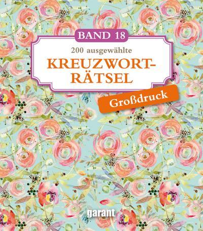 Kreuzworträtsel Deluxe Groß- Band 18
