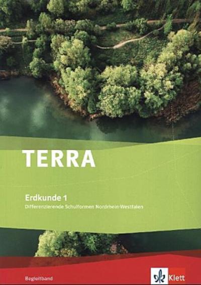TERRA Erdkunde für Nordrhein-Westfalen - Ausgabe für Gesamtschulen. Begleitband Klasse 5/6