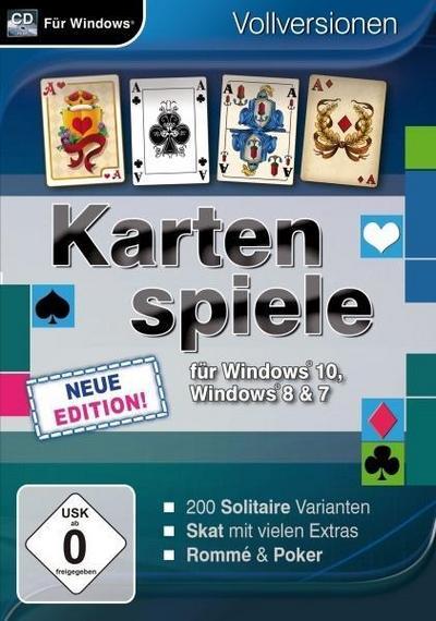 Kartenspiele für Windows 10 - Neue Edition. Für Windows 7/8/10