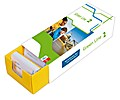 Vokabel-Lernbox zum Schulbuch.Green Line 2 Bayern Klasse 6