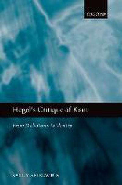Hegel's Critique of Kant