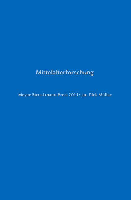Meyer-Struckmann-Preis 2011: Jan-Dirk Müller Bruno Bleckmann