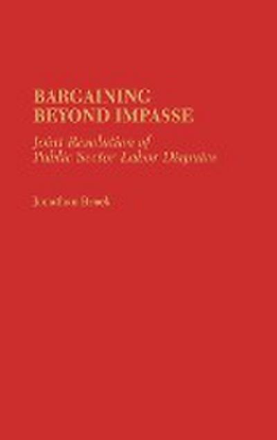 Bargaining Beyond Impasse