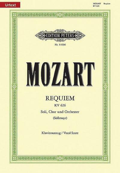 Requiem d-Moll KV 626 / SmWV 105 / URTEXT