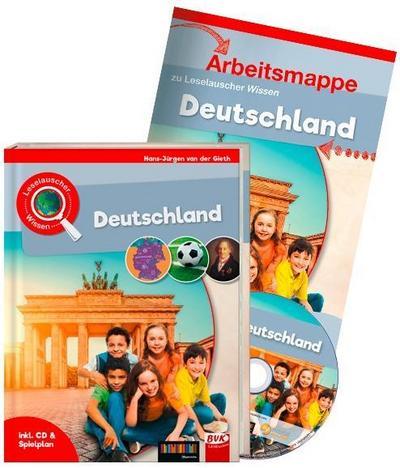 Leselauscher Wissen: Deutschland (inkl. CD & Spielplan). Set