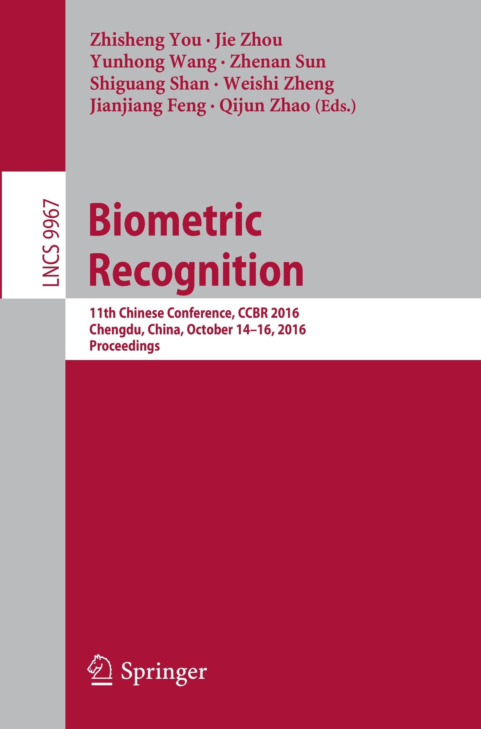 Biometric Recognition Zhisheng You