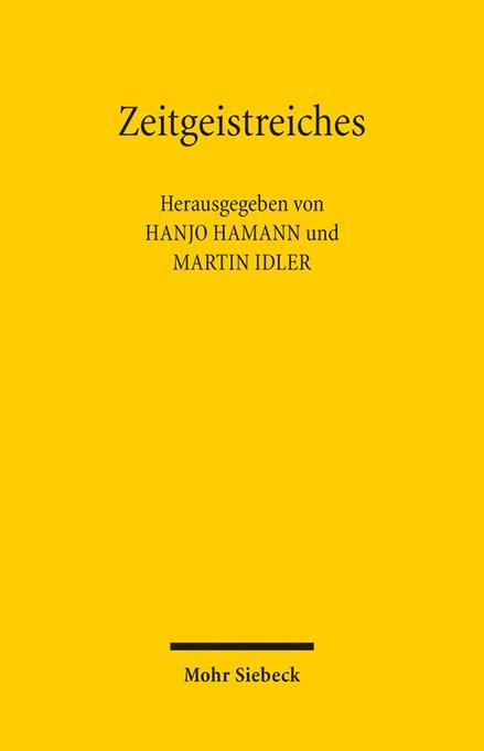 Zeitgeistreiches Hanjo Hamann
