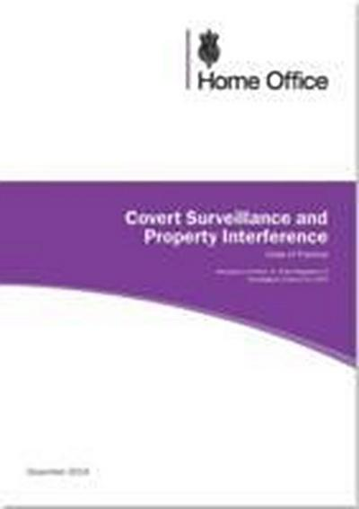 Covert surveillance and property interference