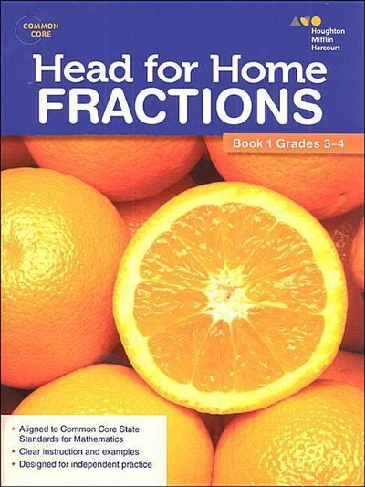 Head for Home: Math Skills: Fractions, Book 1