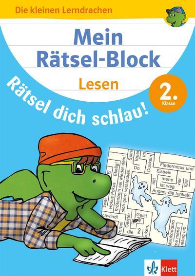 Mein Rätsel-Block Rätsel dich schlau! Lesen 2. Klasse. Deutsch, Grundschule
