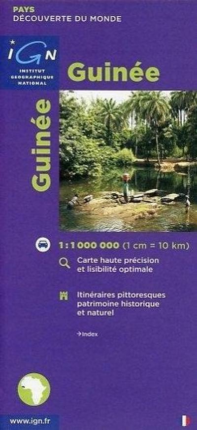 Guinée 1 : 1 000 000