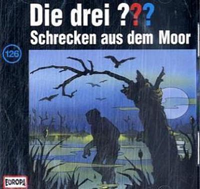 Die drei ??? 126. Schrecken aus dem Moor (drei Fragezeichen) CD