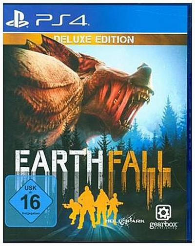 Earthfall, 1 PS4-Blu-ray-Disc (Deluxe Edition)