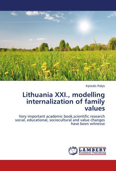 Lithuania XXI., modelling internalization of family values